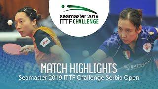 【Video】LI Xiang VS SOO Wai Yam Minnie, tứ kết 2019 ITTF Thử thách Serbia mở