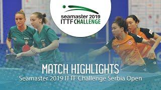 【Video】NG Wing Nam・SOO Wai Yam Minnie VS MADARASZ Dora・PERGEL Szandra, chung kết 2019 ITTF Thử thách Serbia mở