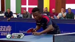 【Video】DRINKHALL Paul VS SALIFOU Abdel-Kader, chung kết 2019 ITTF Thử thách Serbia mở