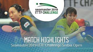 【Video】HAYATA Hina VS SOO Wai Yam Minnie, chung kết 2019 ITTF Thử thách Serbia mở