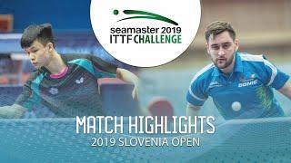 【Video】FENG Yi-Hsin VS POSCH Lars Thử thách ITTF 2019 tại Slovenia