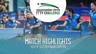 【Video】DIAZ Adriana・DIAZ Melanie VS LIU Qi・MAK Tze Wing Thử thách ITTF 2019 tại Slovenia
