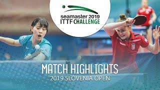 【Video】NAGASAKI Miyu VS PAVLOVIC Andrea, vòng 32 Thử thách ITTF 2019 tại Slovenia