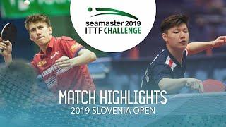 【Video】LEVENKO Andreas VS TIO Nicholas, vòng 32 Thử thách ITTF 2019 tại Slovenia