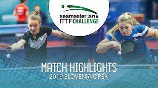 【Video】MIGOT Marie VS KUKULKOVA Tatiana, vòng 64 Thử thách ITTF 2019 tại Slovenia