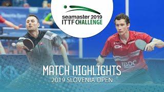 【Video】PISTEJ Lubomir VS GLOD Eric, vòng 64 Thử thách ITTF 2019 tại Slovenia