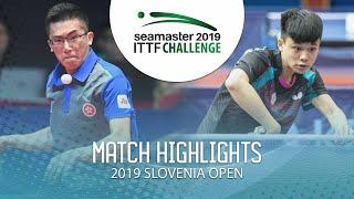 【Video】LAM Siu Hang VS FENG Yi-Hsin, vòng 64 Thử thách ITTF 2019 tại Slovenia
