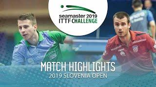 【Video】KOZUL Deni VS KOLAREK Tomislav, vòng 64 Thử thách ITTF 2019 tại Slovenia