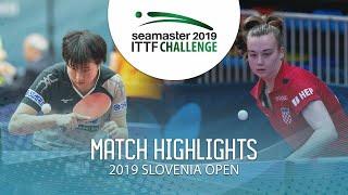 【Video】SOMA Yumeno VS CAKOL Klara, vòng 16 Thử thách ITTF 2019 tại Slovenia
