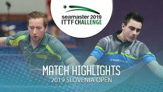 【Video】DEVOS Robin VS OUAICHE Stephane, vòng 64 Thử thách ITTF 2019 tại Slovenia