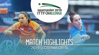 【Video】DIAZ Adriana VS CIOBANU Irina, vòng 32 Thử thách ITTF 2019 tại Slovenia