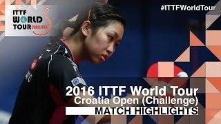 【Video】AI Fukuhara VS HITOMI Sato, tứ kết 2016 Zagreb  mở rộng