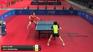 【Video】HINA Hayata VS LI Jiao, vòng 16 2016 Ba Lan mở rộng
