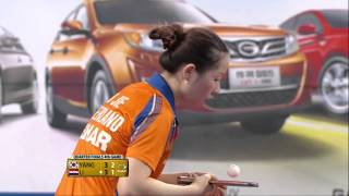 【Video】YANG Haeun VS LI Jie, tứ kết GAC Nhóm 2014  Hàn Quốc mở rộng