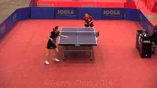 【Video】YUKO Fujii VS ZHENG Jiaqi, vòng 16 2014 US Open '14