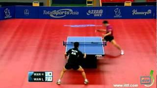 【Video】WANG Hao VS Wang Liqin, bán kết 2011 Thụy Điển mở - Pro Tour ITTF