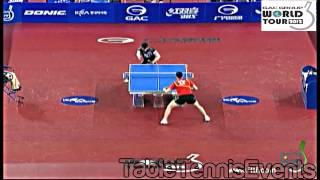 【Video】XU Xin VS KAZUHIRO Chan, bán kết 2012  KRA Hàn Quốc mở rộng