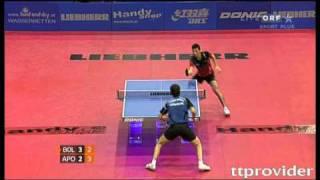【Video】BOLL Timo VS APOLONIA Tiago, chung kết LIEBHERR 2010 Austrian Open - Pro Tour ITTF