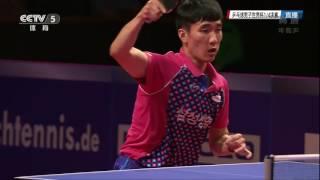 【Video】WONG Chun Ting VS LEE Sangsu, tứ kết World Cup của LIEBHERR 2016 Men