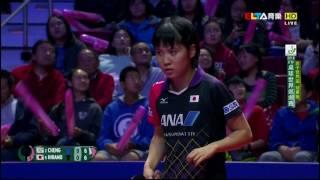 【Video】MIU Hirano VS CHENG I-Ching, chung kết World Cup 2016 Seamaster nữ