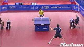 【Video】BOLL Timo VS  Kishikawaseiya, tứ kết 2009 English Mở