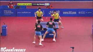 【Video】 Kishikawaseiya・JUN Mizutani VS MA Long・Wang Liqin, chung kết 2009 English Mở