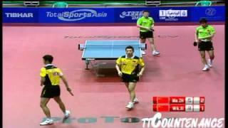 【Video】Wang Liqin・XU Xin VS Ma Lin・ZHANG Jike, chung kết 2011 UAE Open - Pro Tour ITTF