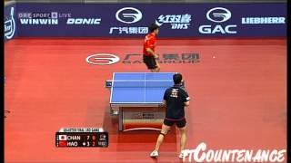 【Video】KAZUHIRO Chan VS Hao Shuai, tứ kết 2013  Austrian mở rộng, Major Series