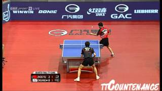 【Video】CHUANG Chih-Yuan VS ZHOU Yu, tứ kết 2013  Austrian mở rộng, Major Series