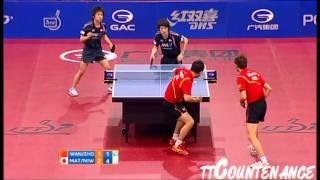 【Video】WANG Hao・ZHOU Yu VS KENTA Matsudaira・KOKI Niwa, chung kết 2012  Ba Lan Mở