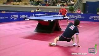 【Video】JUN Mizutani VS WANG Hao, tứ kết 2011 Thụy Điển mở - Pro Tour ITTF