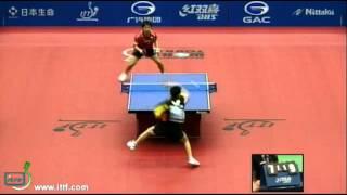 【Video】MASATO Shiono VS HUNG Tzu-Hsiang, khác 2012  Nhật Bản mở rộng