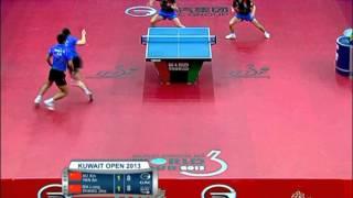 【Video】MA Long・ZHANG Jike VS XU Xin・YAN An, chung kết GAC Nhóm 2013  Kuwait Open, Super Series