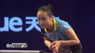 【Video】MIMA Ito VS WANG Manyu, tứ kết 2017 Seamaster 2017 Platinum, Qatar Open