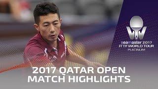 【Video】MA Long VS LI Ping, vòng 16 2017 Seamaster 2017 Platinum, Qatar Open