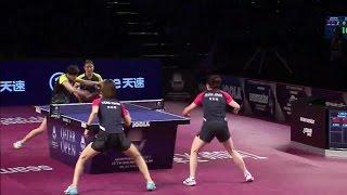 【Video】JEON Jihee・YANG Haeun VS CHEN Meng・WANG Manyu, chung kết 2017 Seamaster 2017 Platinum, Qatar Open