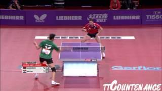 【Video】SAMSONOV Vladimir VS GACINA Andrej, vòng 32 LIEBHERR giải vô địch bóng bàn thế giới 2013