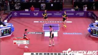 【Video】CHEN Chien-An・CHUANG Chih-Yuan VS Wang Liqin・ZHOU Yu, bán kết LIEBHERR giải vô địch bóng bàn thế giới 2013