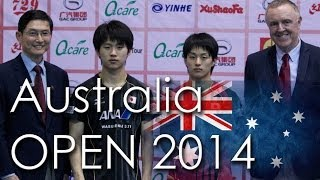 【Video】ASUKA Sakai VS KOHEI Sambe, chung kết GAC Nhóm 2014  Ozcare Úc mở