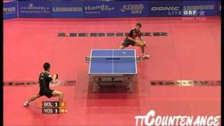 【Video】BOLL Timo VS KAII Yoshida, tứ kết LIEBHERR 2010 Austrian Open - Pro Tour ITTF