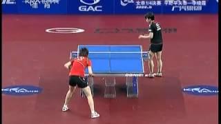 【Video】HIRANO Sayaka VS LI Xiaoxia, tứ kết 2012  KRA Hàn Quốc mở rộng