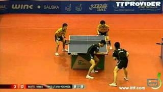 【Video】KENTA Matsudaira・KOKI Niwa VS JUN Mizutani・KAII Yoshida, chung kết JOOLA 2010 Hungary Open - Pro Tour ITTF